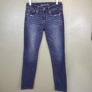 American Eagle super stretch skinny jeans (448)